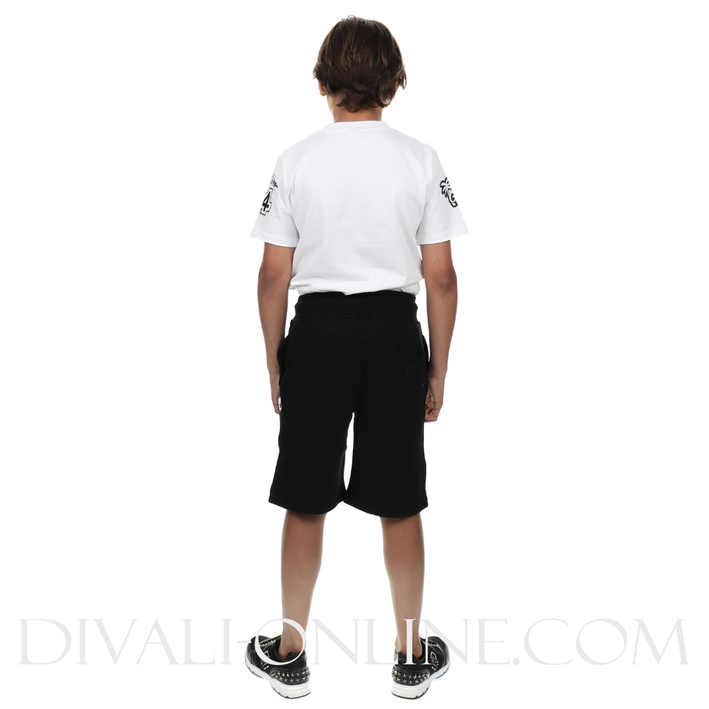 Short Sweatpants Big Logo Black