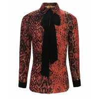 Goldie Estelle Tansy Blouse Red Print