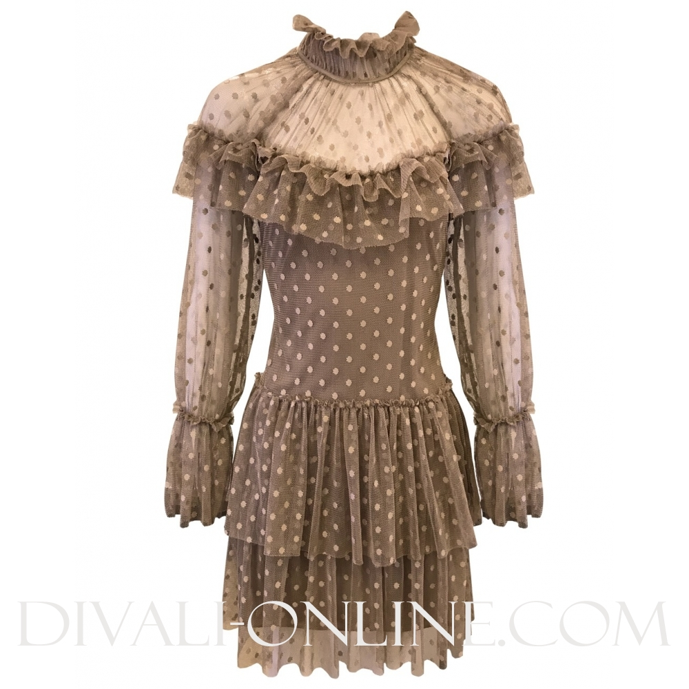Clover Dress Beige