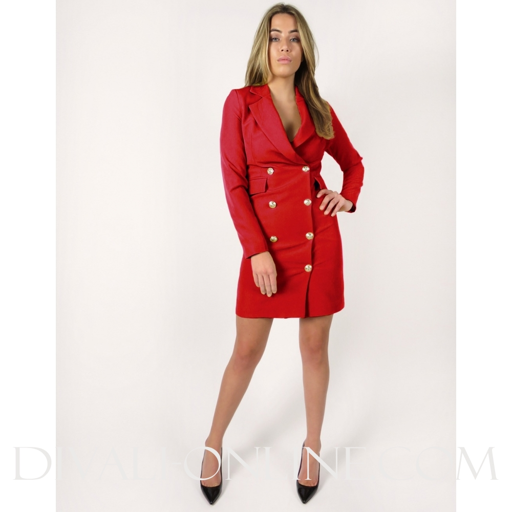 Laeila Dress Red