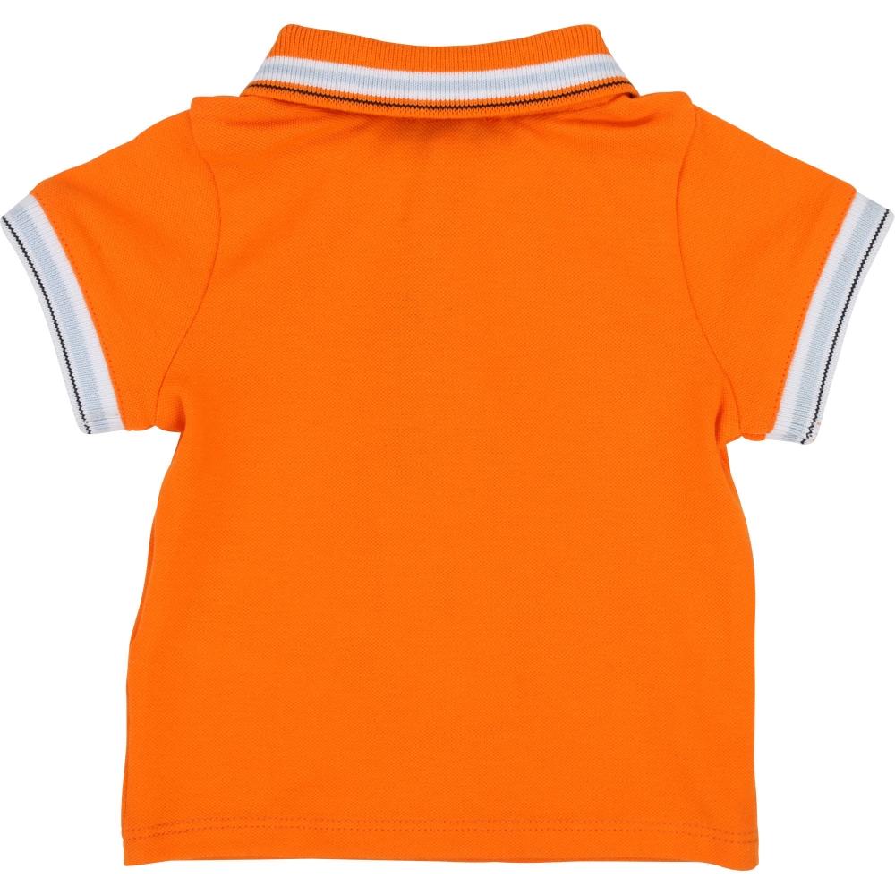 Polo Logo Orange