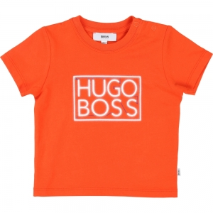 T-shirt Oranje Rood