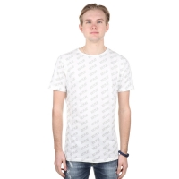 Iceplay T-shirt All-over logo White-black