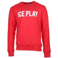 Iceplay Sweater Logo Red-white
