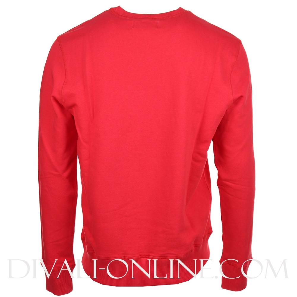 Sweater Logo Red-white