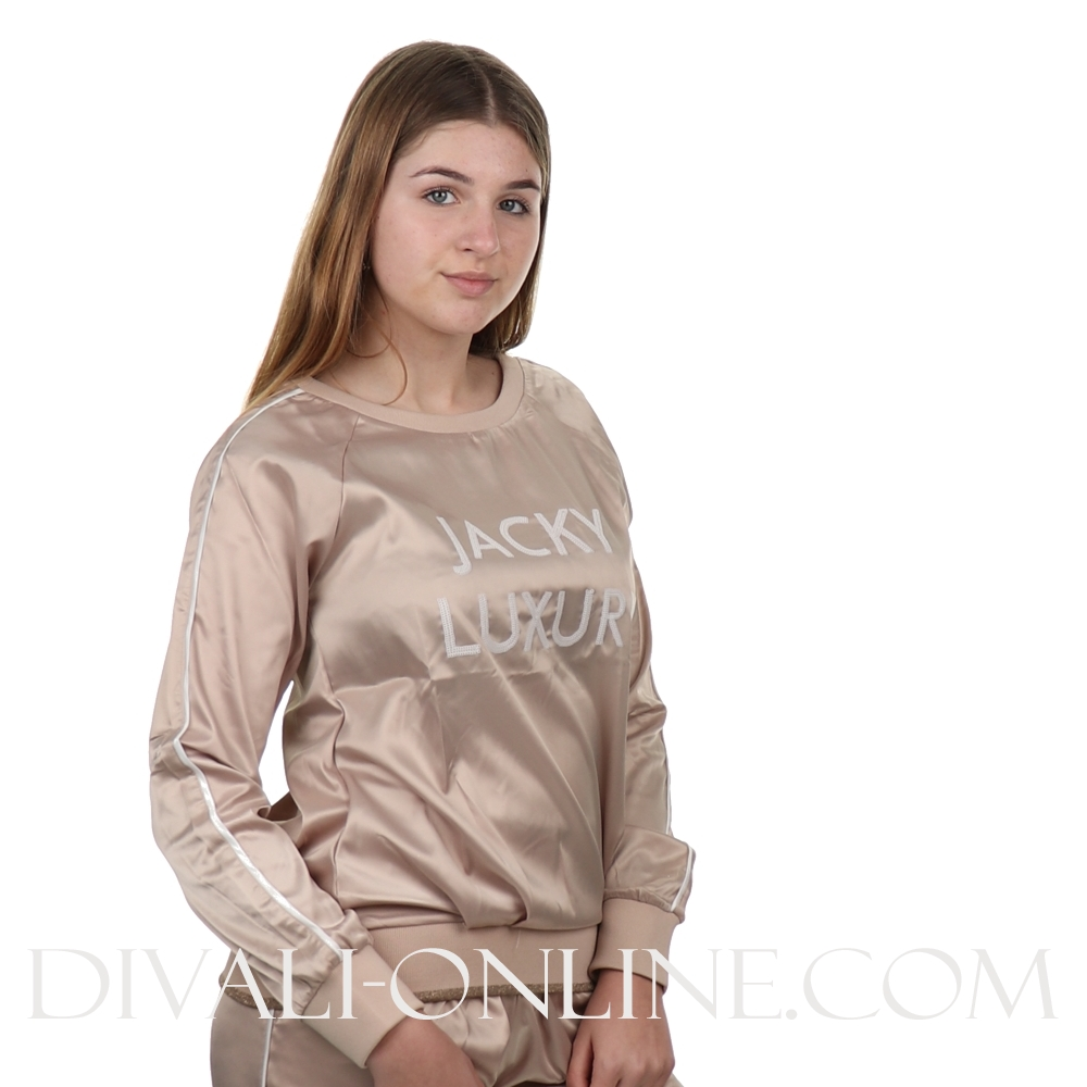 Sweater Satin Nude