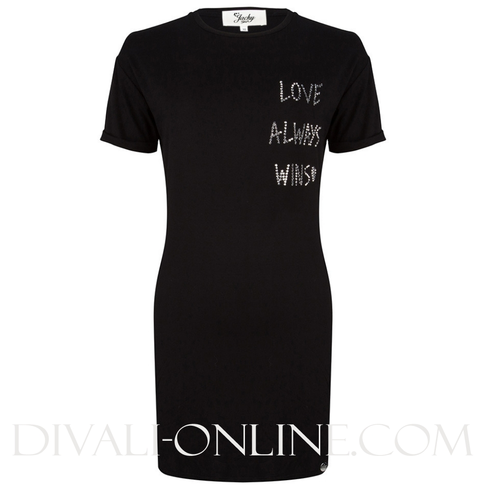 Dress Love always Black