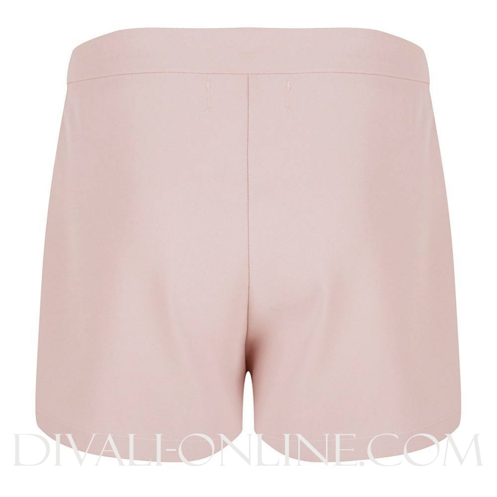 Short With Scallops Nude