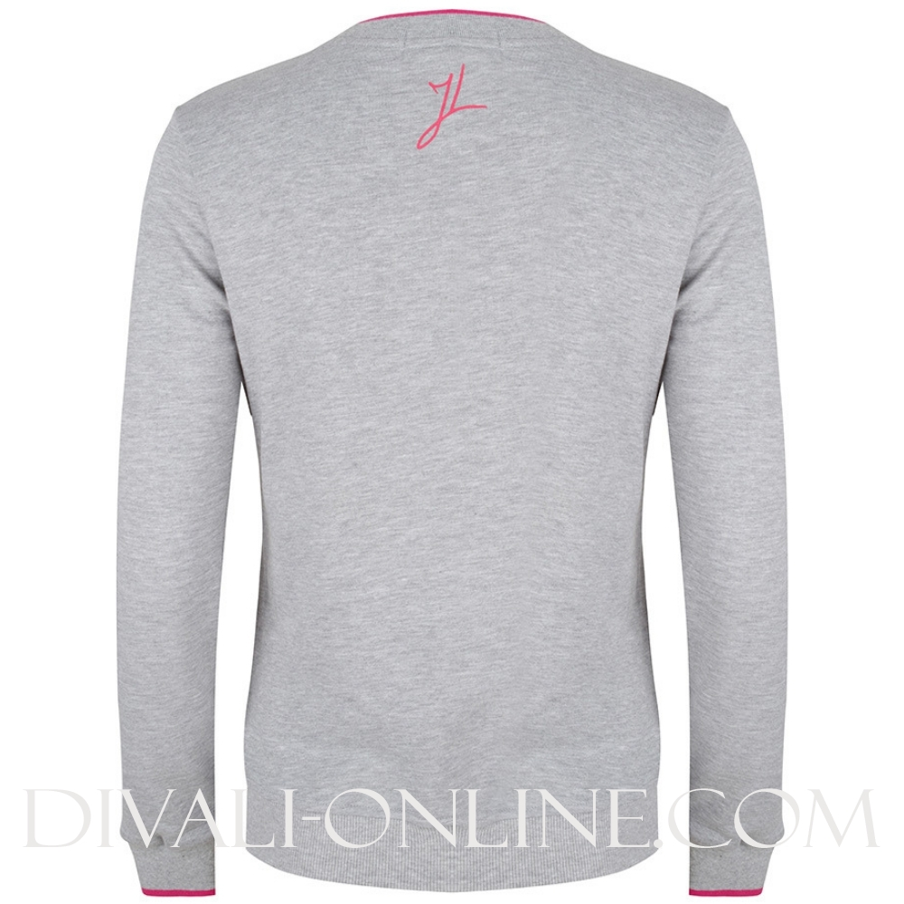 Sweater Artwork Grey Melange
