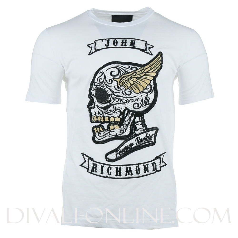 T-shirt Kewgardens White