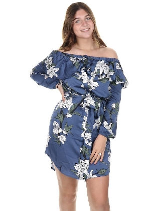 Renay Dress Blue