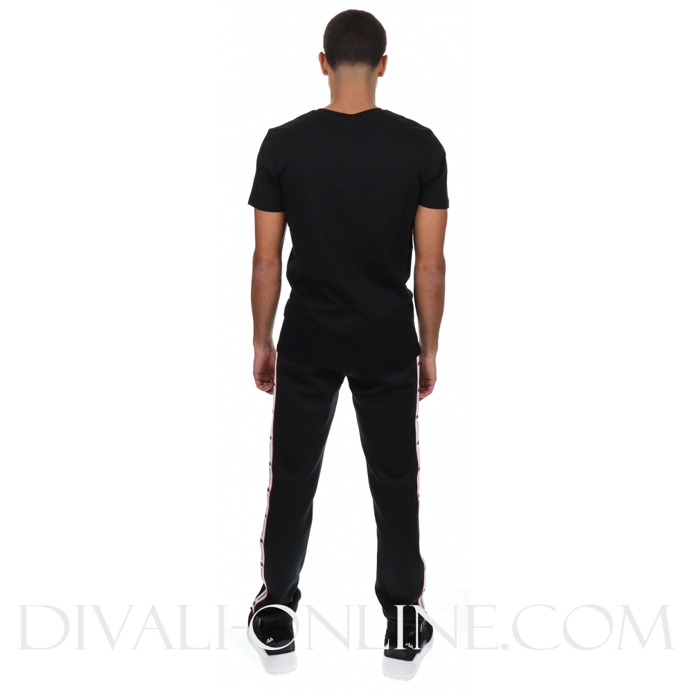 T-shirt Authentic estessi slim black white