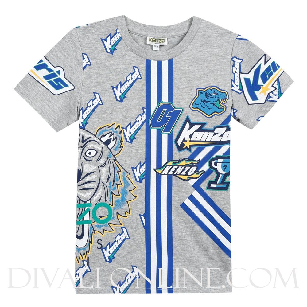 T-shirt Frank Marl Grey