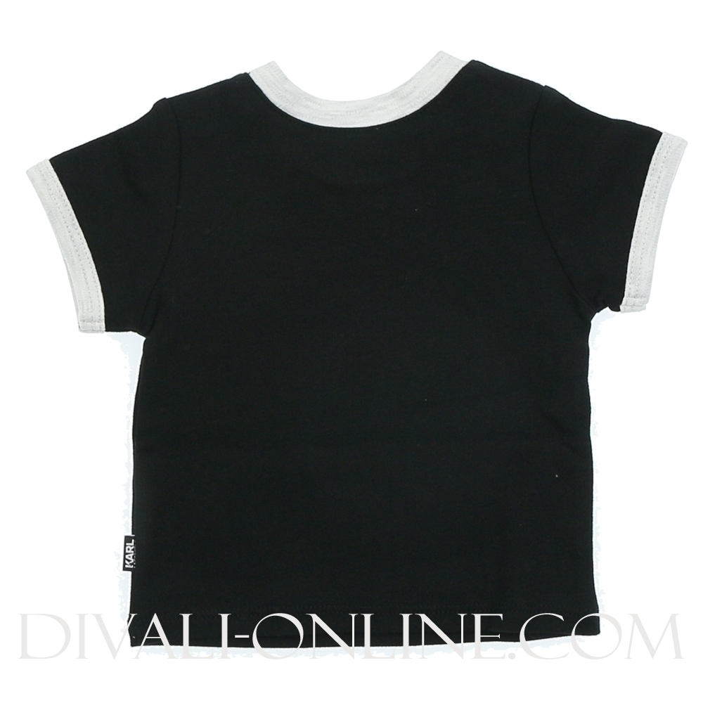 T-shirt When Karl is.. Black