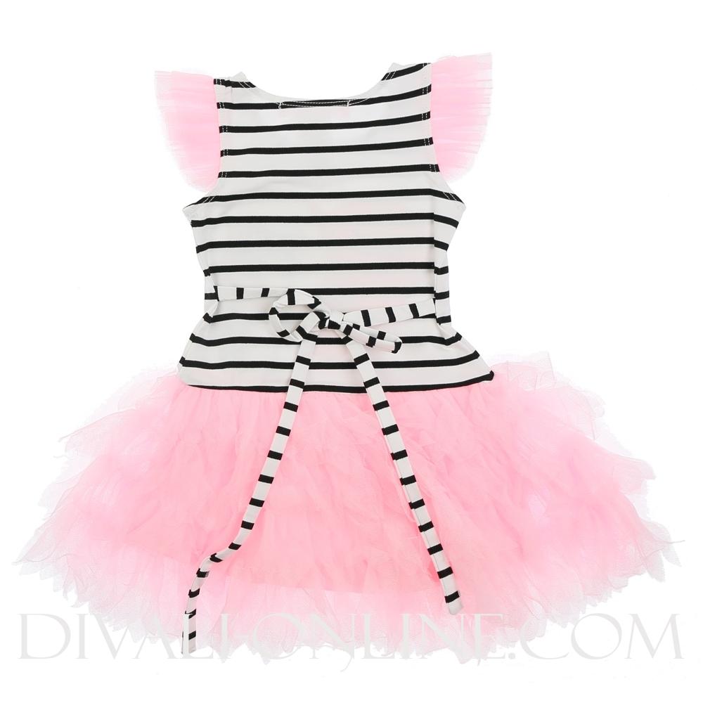 Dress Stripe Tulle