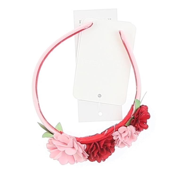 Flowers Headband Pink