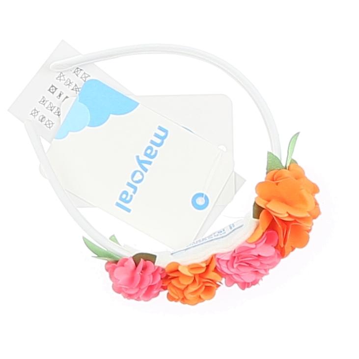 Flowers Headband White