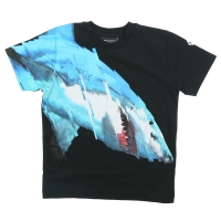 Marcelo Burlon T-shirt Big Tiburon Black