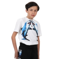 Marcelo Burlon T-shirt Shark White