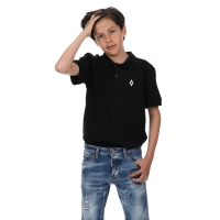 Marcelo Burlon Polo Black Flags
