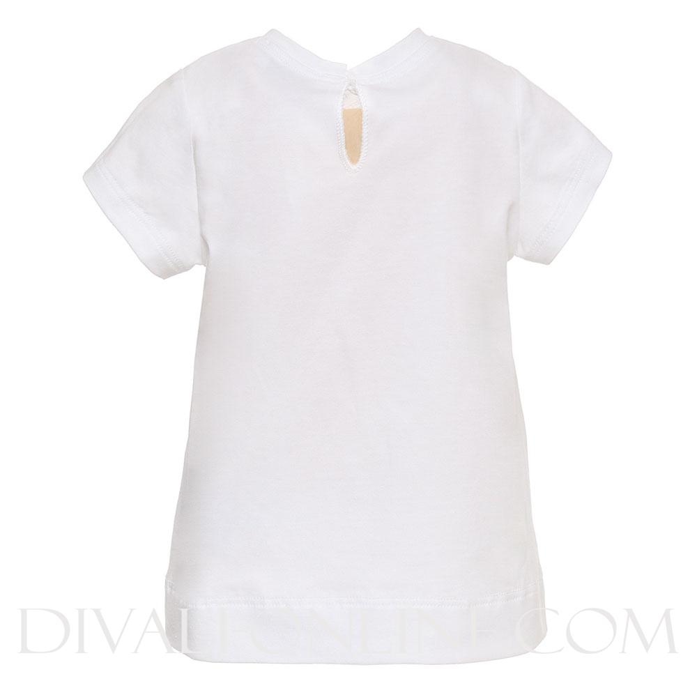 T-shirt Ariel White