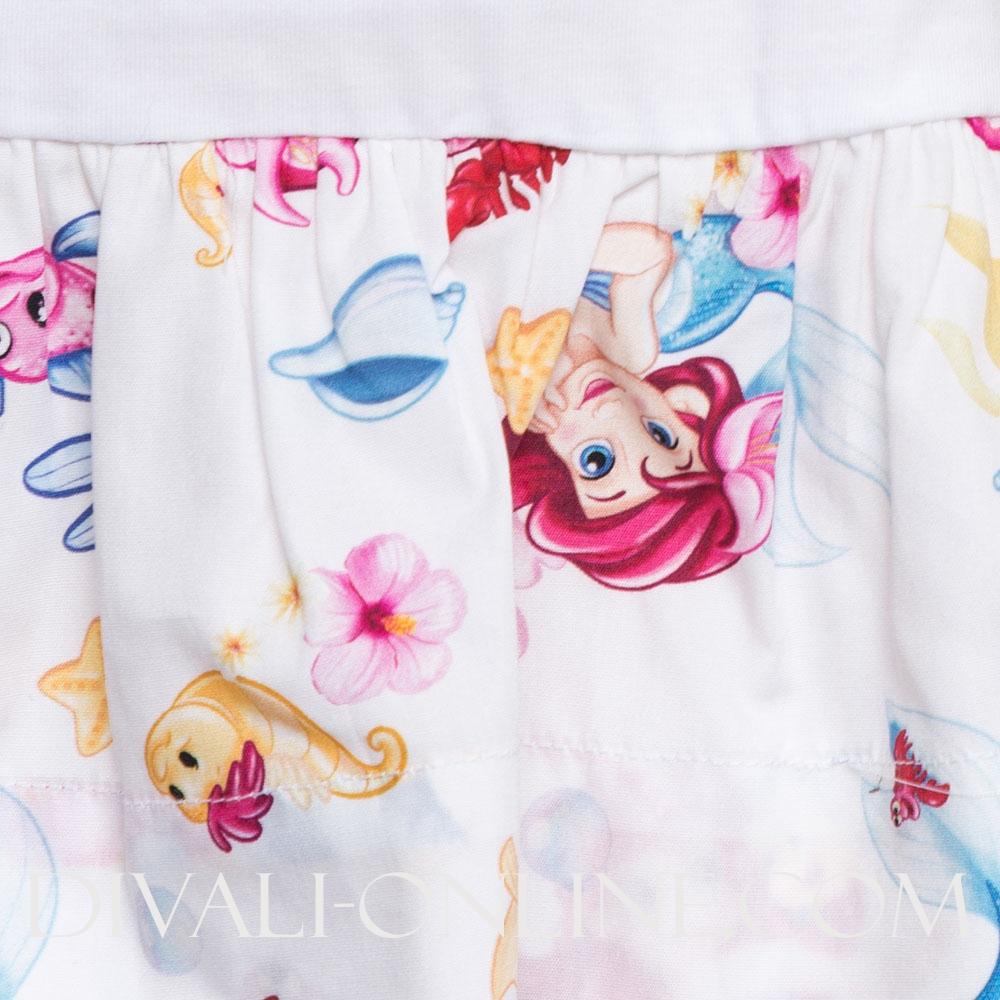 Dress Baby Ariel White
