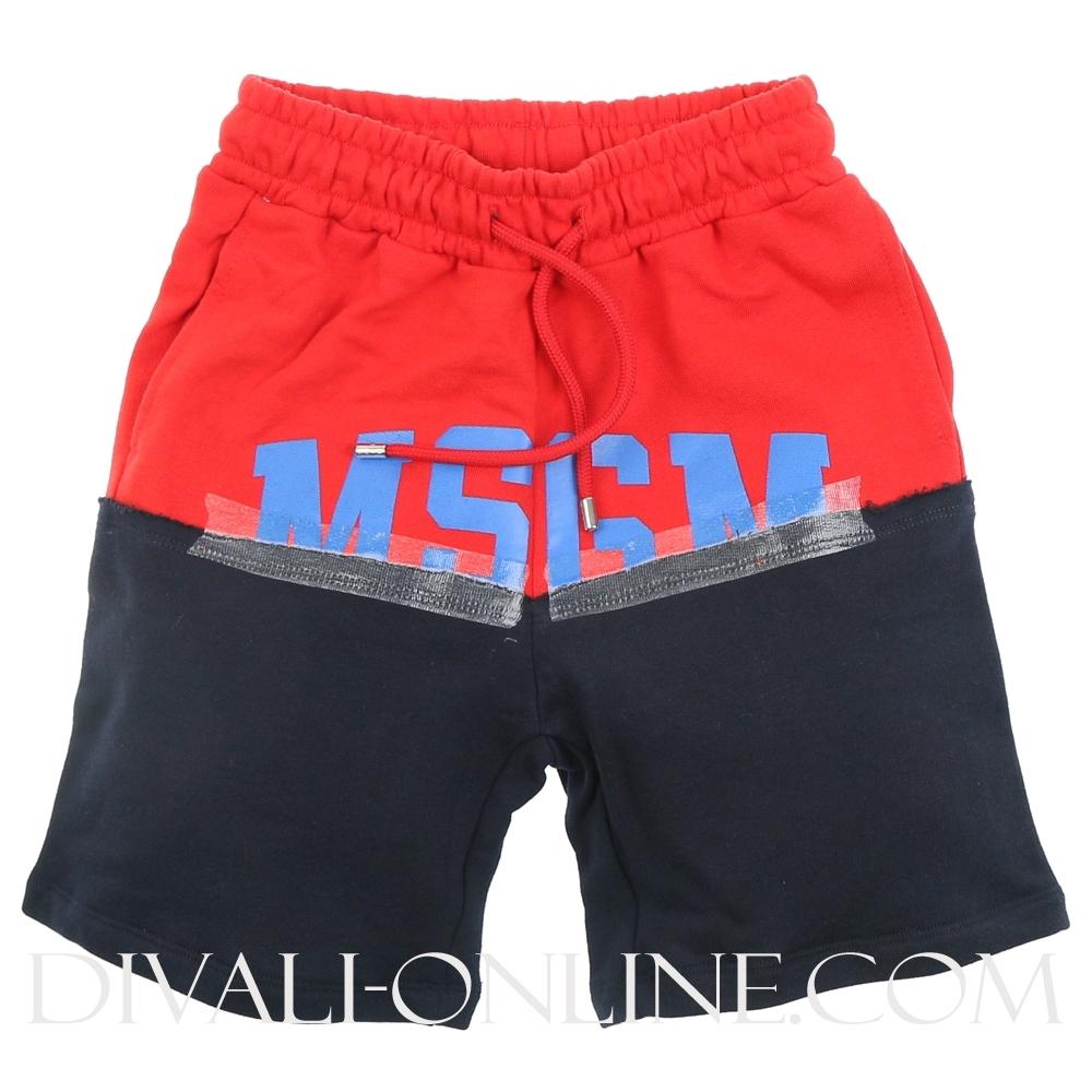 Jogging Short Red Blue