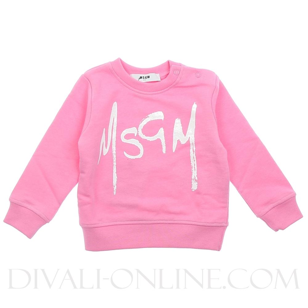 Sweater Pink White
