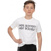 Neil Barrett T-shirt White Black Logo