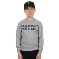 Neil Barrett Sweater Grey Black Logo