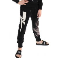 Neil Barrett Sweatpants Black White Tunder