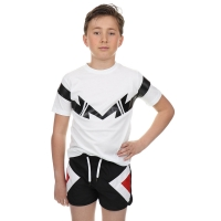 T-shirt White Double Thunder