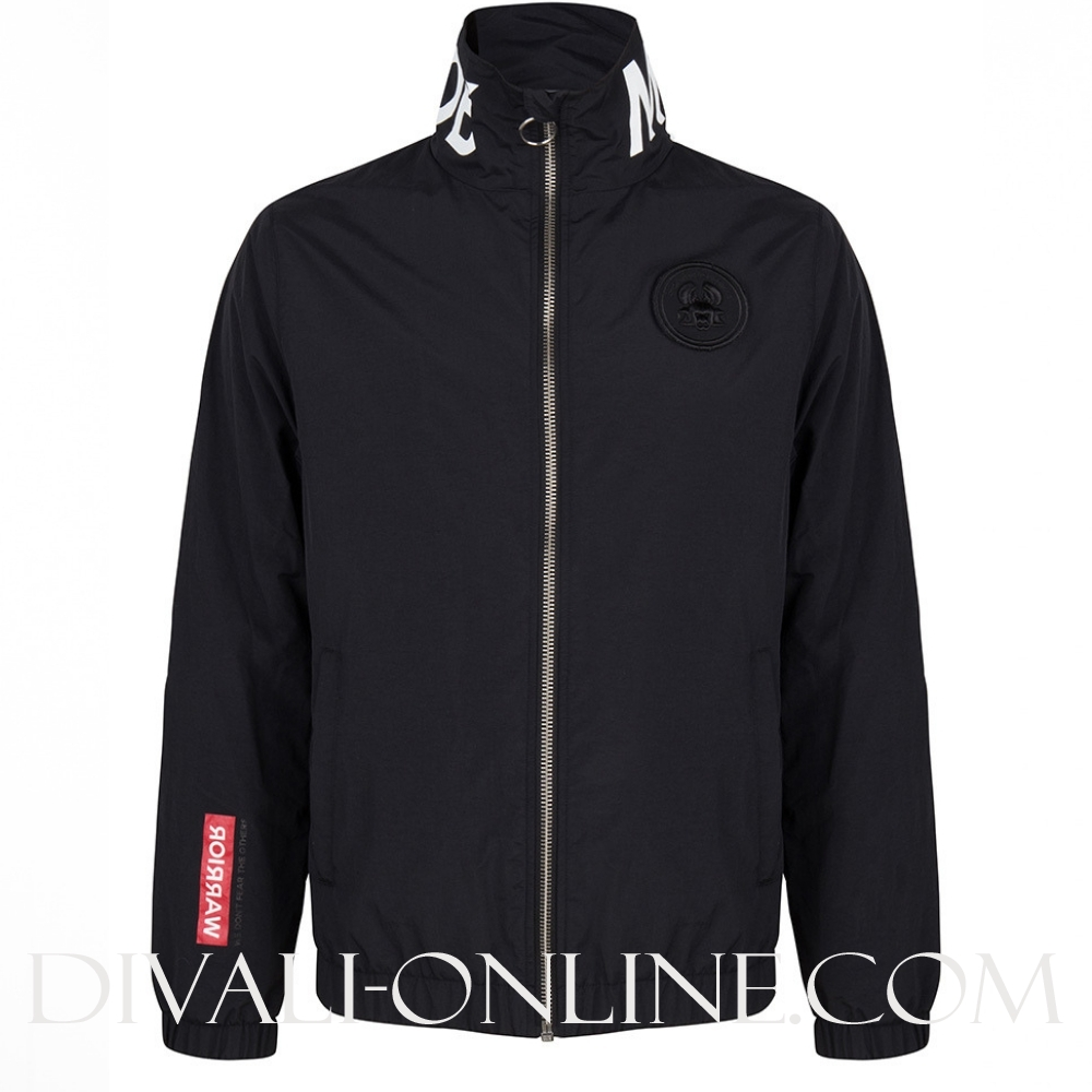 Gin Woven Track Jacket Black