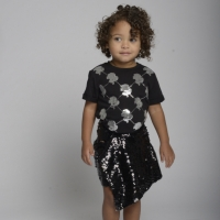 Skirt Squins True Black/Silver