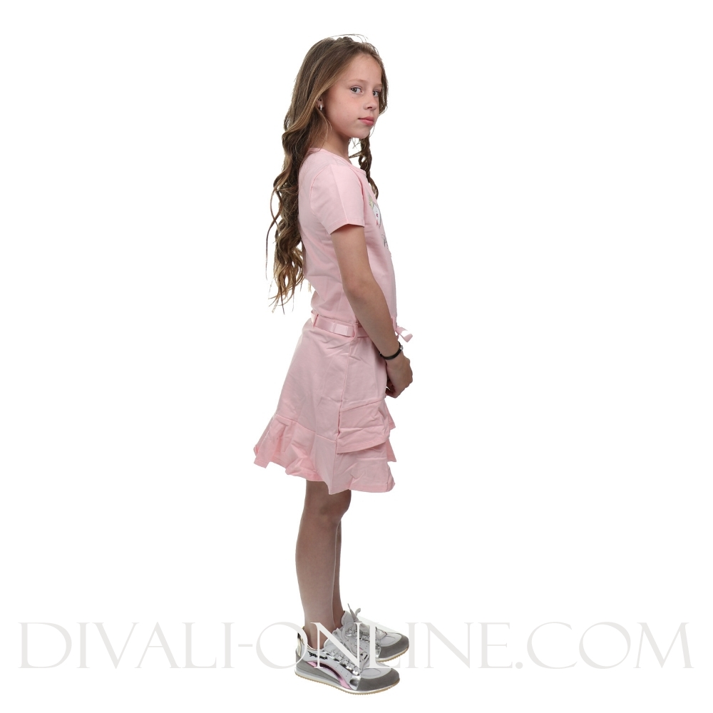 Dress Let\'s Be Princesses Pink Crystal