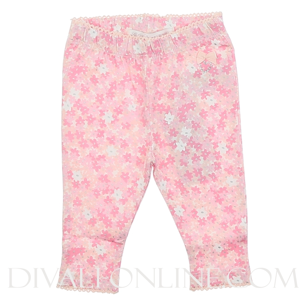 Legging Allover Daisy Pink Powder