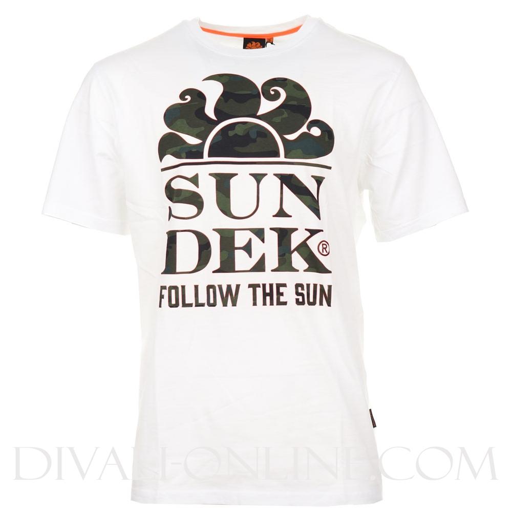 T-shirt Follow the sun White