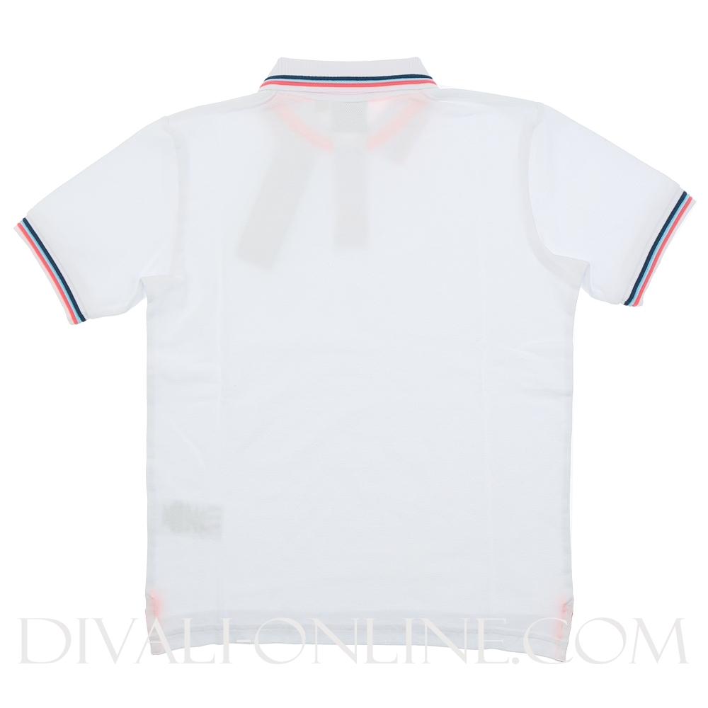 Polo Stripe White