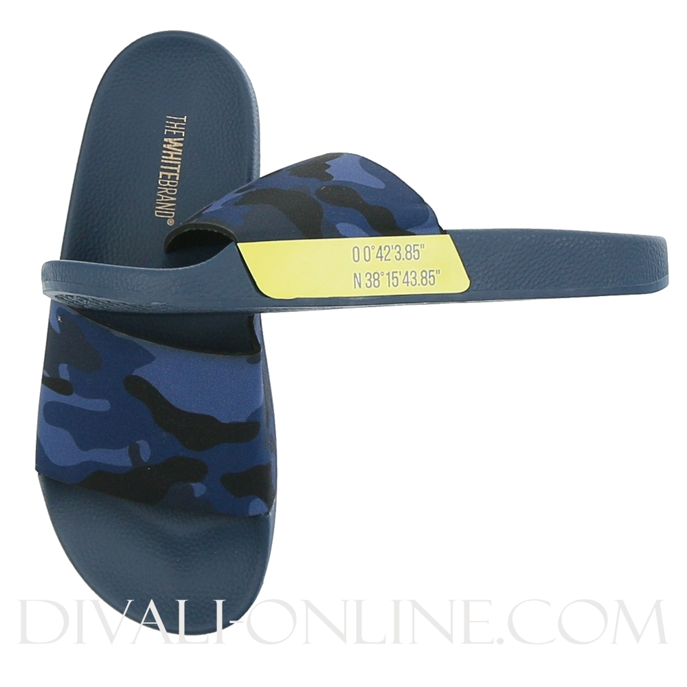 Slippers Forest Navy