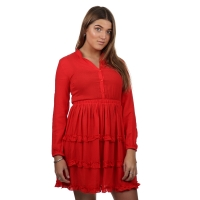 Wanderlust Dress Oase Red