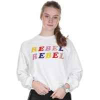 Zoe Karssen Optical White Sweater Rebel