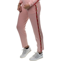 Joggingbroek Love rules Silver pink