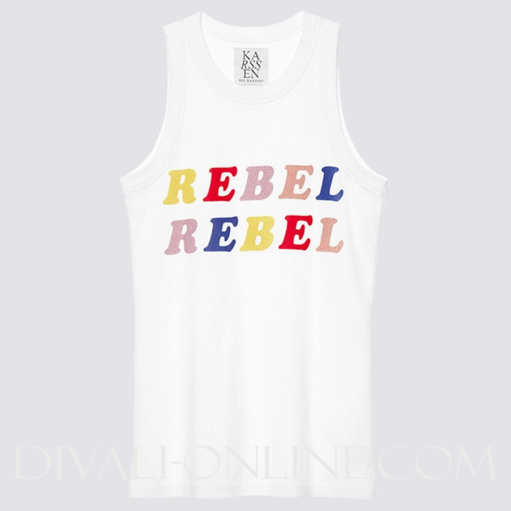 Optical White Top Rebel