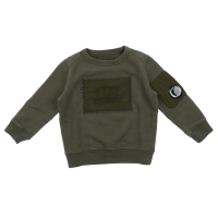 C.P. Company Sweater Crewn Neck Dusty Olive