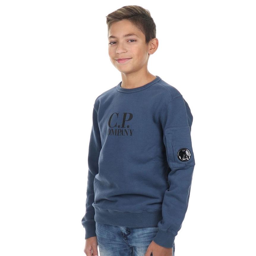 Sweater Basic Fleece Dark Denim