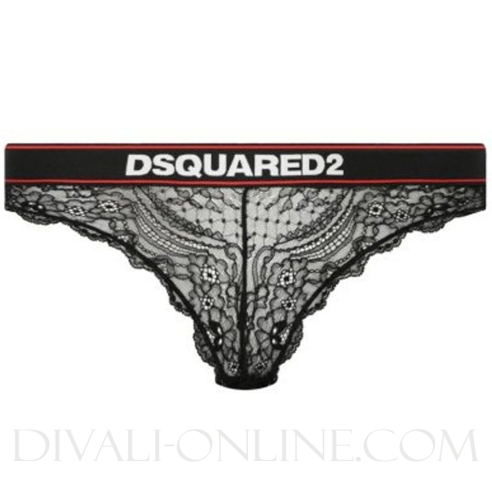 Lace Brief Black