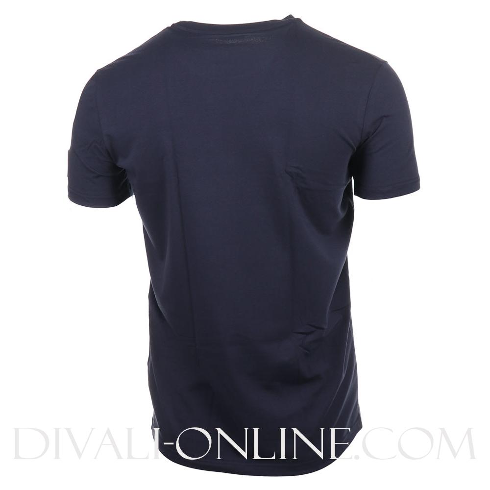 T-shirt Logo Embleem Navy