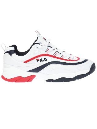 Sneaker Ray F Low White/Fila navy