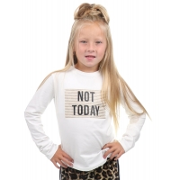 Fun&Fun Longsleeve White Not Today