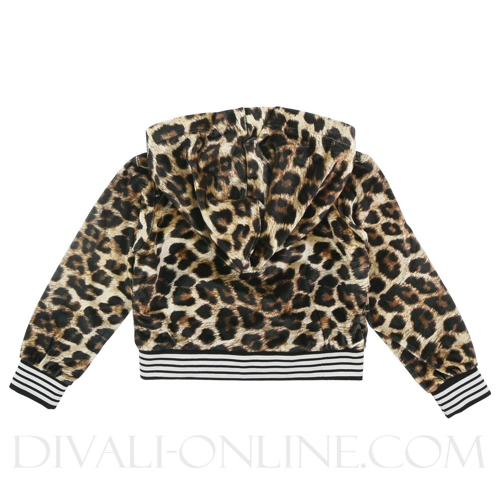 Vest Leopard Black